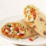 Diabetic Vegetarian Wrap Recipe