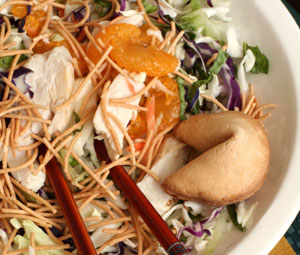 Diabetic Asian Infused Salad Recipe