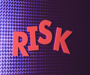 Picture of the word risk