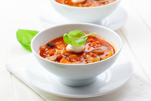 diabetic minestrone soup