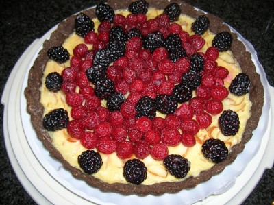 Berry and Cream Tart